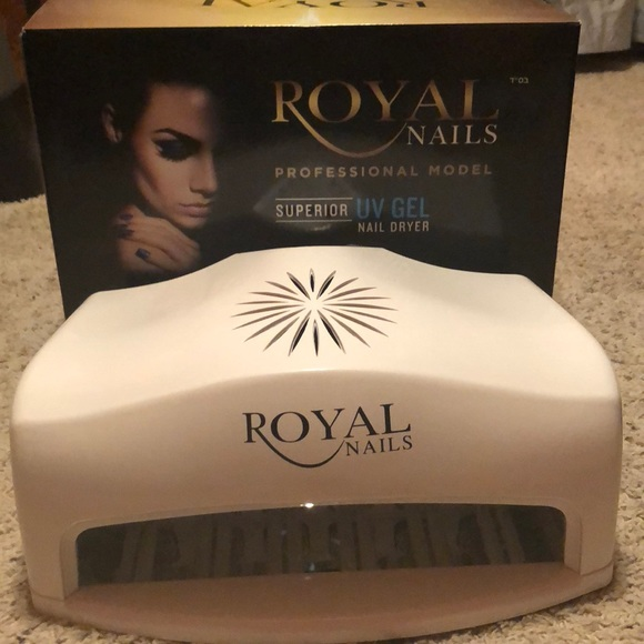 54 watt royal nails professional uv light